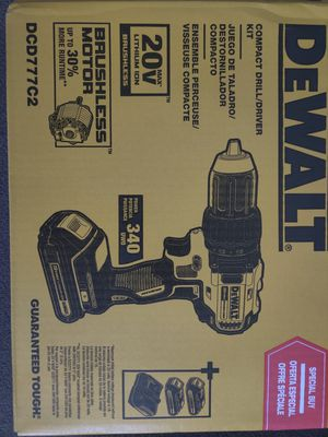 DeWalt 20v Brushless Drill Kit (1/2 Chuck) for Sale in Phoenix, AZ