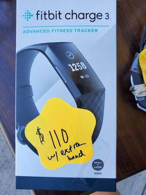 Fitbit Charge 3 for Sale in PT CHARLOTTE, FL