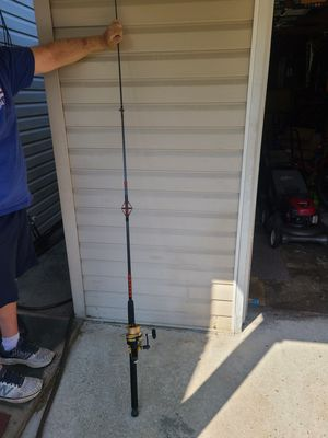 Daiwa Fishing Rod and Penn 750 SS Fishing Reel for Surf-Casting for Sale in Levittown, NY