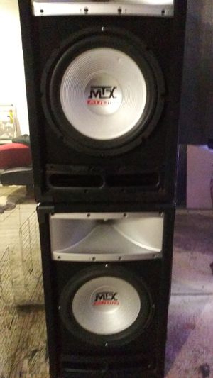 MTX AUDIO TP112 150 WATTS RMS/300 WATTS PEAK POWER 12INC. CONCERT SPEAKERS for Sale in Rodeo, CA