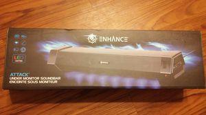 Enhance Attack Under Monitor Soundbar *NEW* for Sale in Lubbock, TX