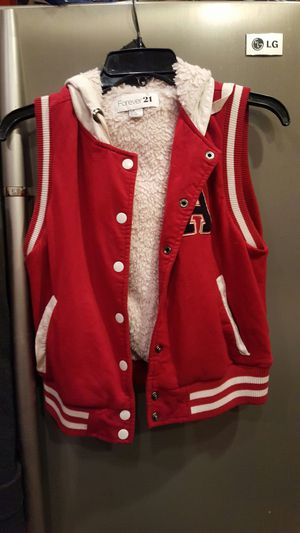 Forever 21 vintage style looking leathermen sleeveless jacket for Sale in Portland, OR