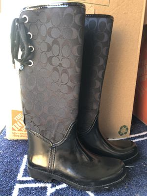 Coach Rain Boots for Sale in The Colony, TX
