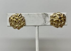 10KT Yellow Gold Diamond Nugget Earrings 112962/11 for Sale in Federal Way, WA