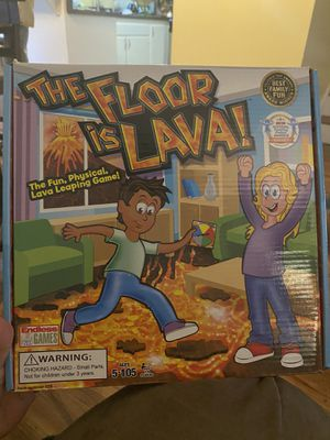 The floor is lava board game for Sale in Huntington Beach, CA