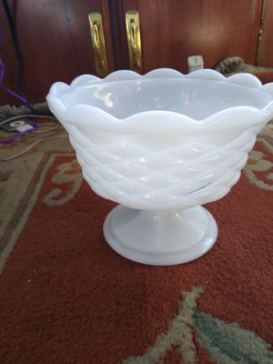 Antique white candy dish for Sale in Oakland, CA