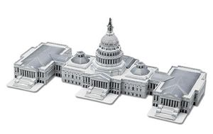Capital hill 3D puzzle for Sale in Garner, NC
