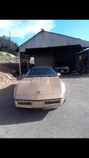 1986 Chevy Corvette Convertible Original for Sale in Escondido, CA