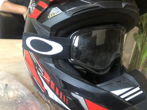 Adult Motorcycle W/ Oakley glasses for Sale in San Bernardino, CA