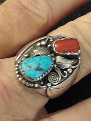 Vintage Native American sterling silver ring for Sale in Port St. Lucie, FL