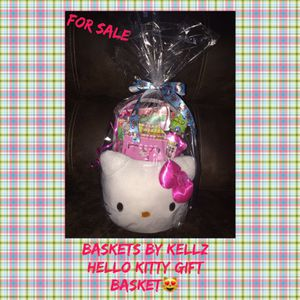 Hello Kitty pre made Gift Basket for Sale in Baltimore, MD