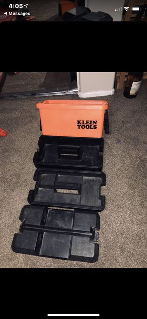 Klein Tool Box for Sale in Fontana, CA