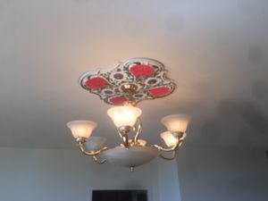 5 chandeliers 3 medallions for Sale in Richmond, VA