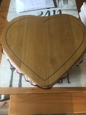 Longaberger heart shaped baskets with lids for Sale in St. Louis, MO