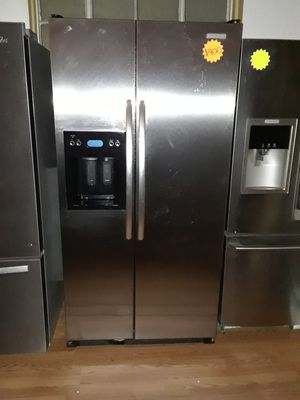 Kitchen Aid side by side refrigerator stainless steel for Sale in Chula Vista, CA