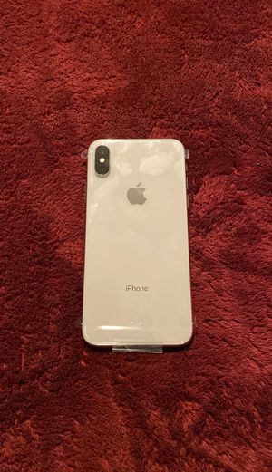 iPhone X 256gb unlocked brand new for Sale in San Jose, CA