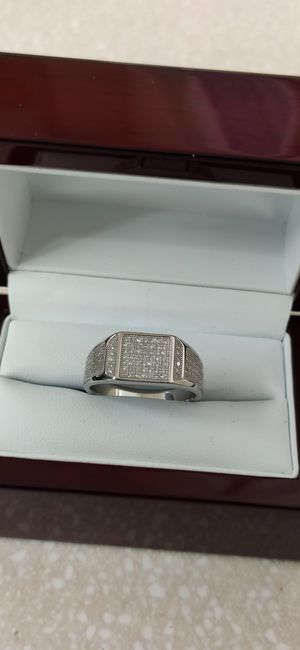 New with tag Solid 925 Sterling Silver MEN'S WEDDING Ring size 8 / 10 or 11 $150 OR BEST OFFER ** WE SHIP!!📦📫** for Sale in Phoenix, AZ