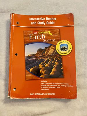 Earth Science Activity Book for Sale in Poway, CA