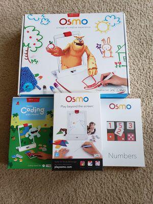 Osmo iPad Creative Learning Kit for Sale in Waynesboro, VA
