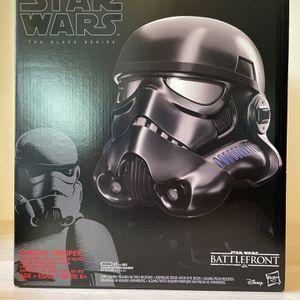 Star Wars black series shadow trooper helmet for Sale in Manassas, VA