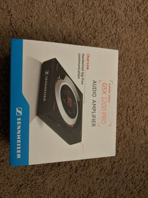 Sennheiser GSX 1200 Pro Audio Amplifier for PC and Mac for Sale in San Diego, CA