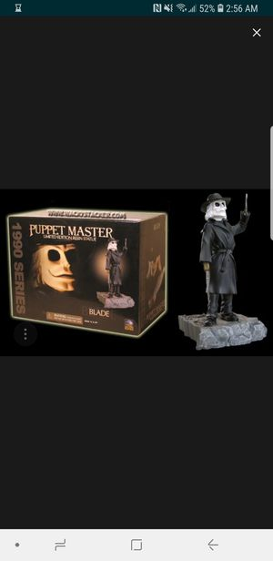 Puppet master blade resin statue for Sale in Glendale, AZ
