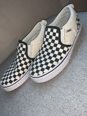 Checkered Vans size Youth 6 for Sale in Fort Worth, TX