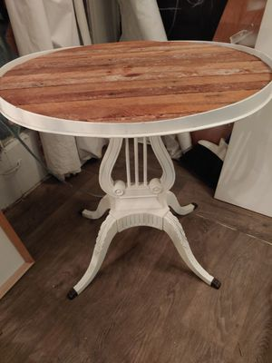 Super sale on modern shabby chic end table w/ reclaimed wood for Sale in San Diego, CA