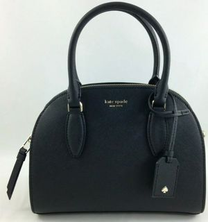 New Authentic Kate Spade Leather Reiley Medium Dome Satchel Handbag Purse Black for Sale in Atlanta, GA