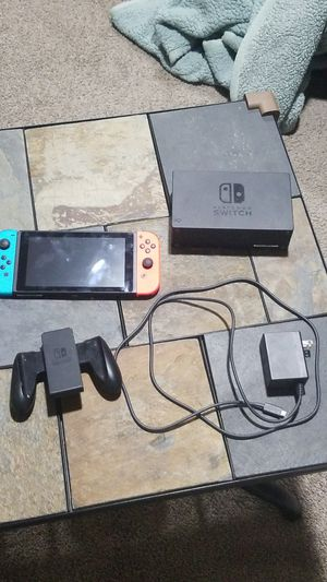 Nintendo switch with accessories for Sale in Gilbert, AZ