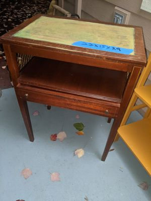 Wonderful vintage table with mesh on both sides from a very high net beautiful home, for Sale in Portland, OR