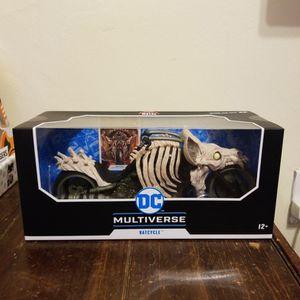 McFarlane Toys DC Multiverse Dark Knights Death Metal Batcycle for Sale in Berwyn, IL