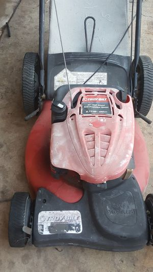 Troy built lawn mower self propelled for Sale in Corona, CA