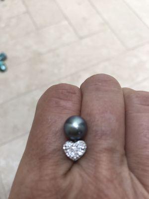 Heart Diamond Earrings for Sale in Dallas, TX