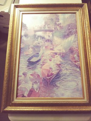 Vintage Venice Print on Canvas for Sale in Kennewick, WA