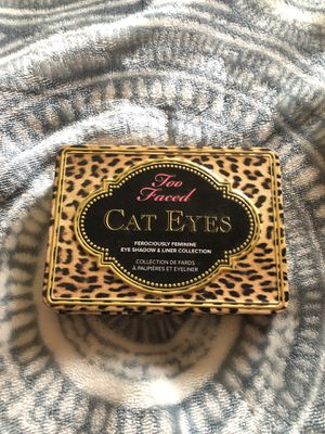 Too Faced - CAT EYES - Eyeshadow Palette for Sale in Stockton, CA