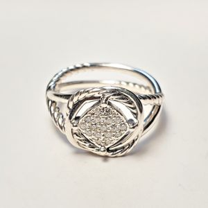 David Yurman Diamond Infinity Ring for Sale in Winston-Salem, NC