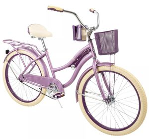 """HUFFY 24"""" NEL LUSSO CRUISER BIKE PURPLE WITH BASKET BRAND NEW IN BOX for Sale in Tampa, FL"""
