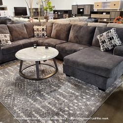 NEW, LARGE RAF Corner Chaise, SMOKE COLOR SECTIONAL. for Sale in Ontario,  CA