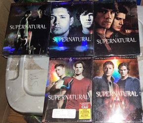 Super Natural Seasons 1-3 And 5,6 for Sale in Waco,  TX
