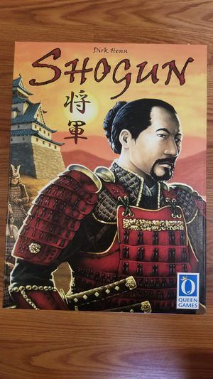 SHOGUN Boardgame Brand New for Sale in Westminster, MD