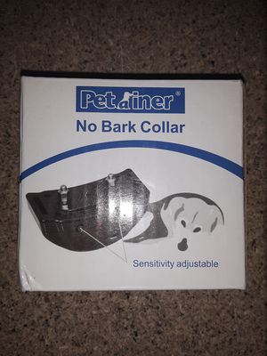 No bark collar for Sale in Winston-Salem, NC