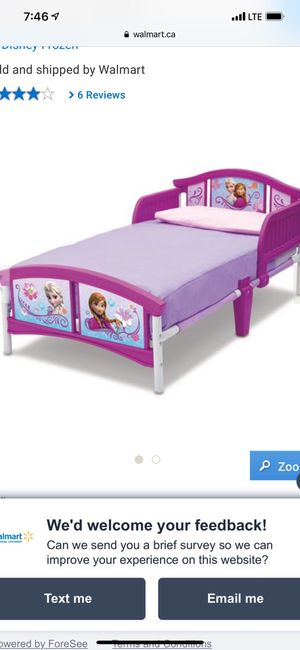 Frozen small bed for Sale in Peoria, IL