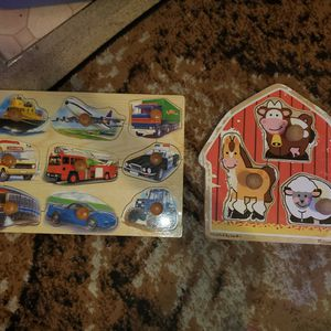 2 wooden puzzles for Sale in Everett, WA