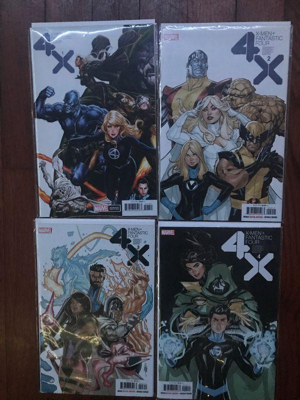 Marvels X-Men + Fantastic Four Complete Story