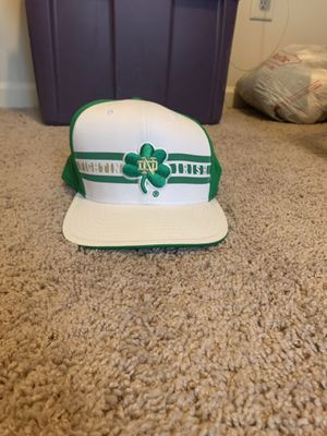 Notre Dame adidas snapback Hat for Sale in Canton, GA
