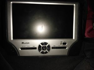 Mustek dual portable DVD players for the car for Sale in Suisun City, CA