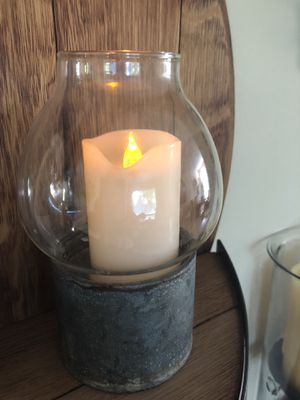 Farmhouse style candle holder for Sale in Vancouver, WA