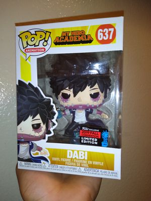 Funko Pop - My Hero Academia - Dabi - NYCC Shared Exclusive for Sale in Los Angeles, CA