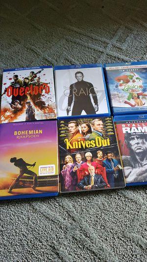 Blu rays for Sale in Tacoma, WA